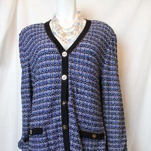 Admirable Textured Tweed Jacket!